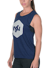 Hex Tonal Muscle Tee Heather Navy/Gray
