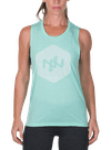 Hex Tonal Muscle Tee Mint/Mint