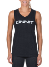 Onnit New Type Muscle Tee Black Heather/White