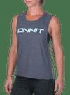 Onnit New Type Muscle Tee Asphalt Slub/Mint
