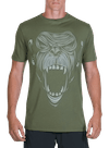Primal Bamboo T-Shirt Olive/Gray