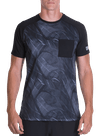Division Pocket Performance Shirt Broken Waves