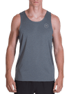 Pure Flow Tech Tank Charcoal Heather
