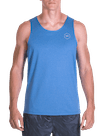 Pure Flow Tech Tank Blue Heather