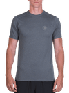 Pure Flow Tech Tee Charcoal Heather