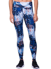 Glimpse Performance Leggings Abstract Rock