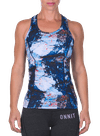 Pushin' It Performance Racerback Abstract Rock
