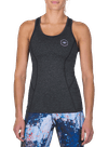 Pushin' It Performance Racerback Charcoal Heather