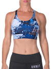 Steady Sports Bra Abstract Rock