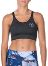 Steady Sports Bra Charcoal Heather