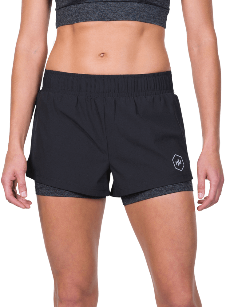 Sunny Day Performance Shorts w/ Compression