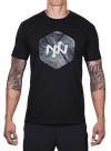 Hex Broken Waves T-Shirt Black
