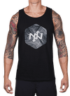 Hex Broken Waves Tank Top Black