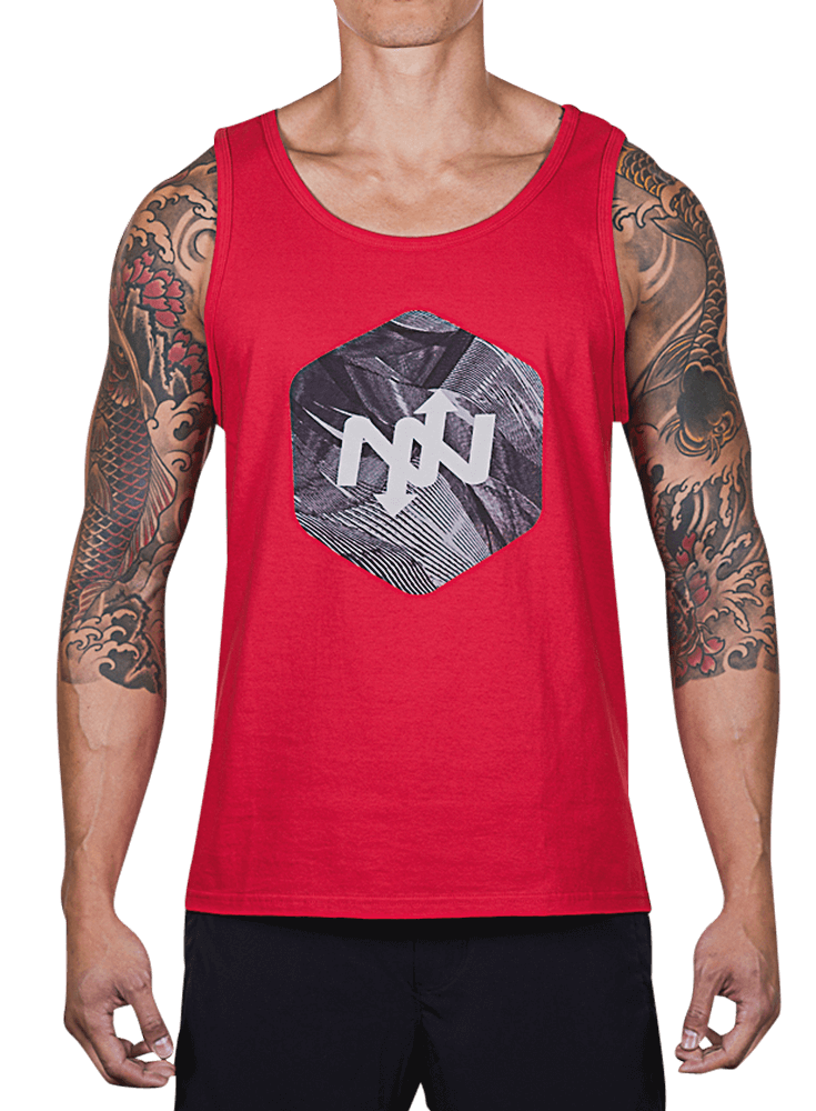 Hex Broken Waves Tank Top