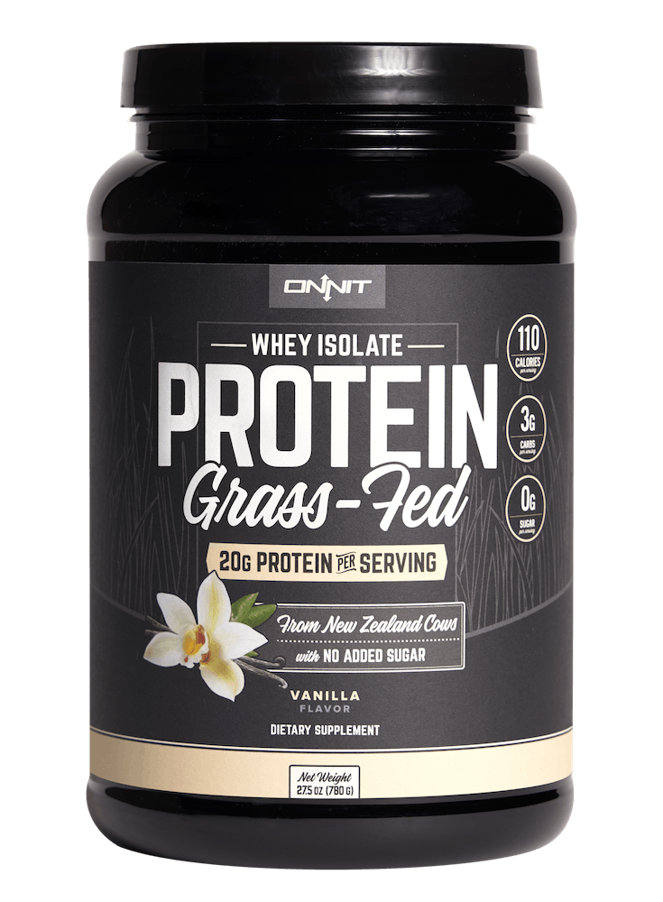 GRASS-FED WHEY ISOLATE