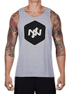 Hex Two-Tone Tank Top Athletic Heather/Black