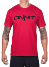 Onnit Type T-Shirt Red/Black