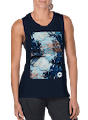 Abstract Rock Muscle Tee Midnight