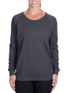 Onnit Minimal Slouch Crew Charcoal Heather/Gray