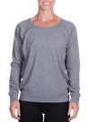 Onnit Minimal Slouch Crew Gray Heather/Charcoal