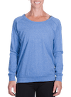 Onnit Minimal Slouch Crew Lt Blue Heather/Navy