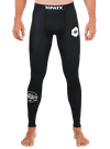 10PATX Compression Spats Black/Black