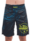 10PATX Takedown Boardshorts Blue Topography/Green