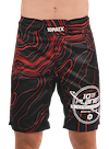 10PATX Takedown Boardshorts Red Topography/White