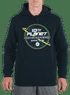 10P Topography Hoodie Navy/Green