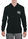 10th Planet Orbit Zip Hoodie Black/Gray