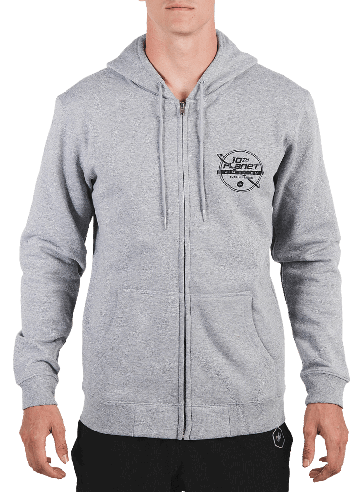 10th Planet Orbit Zip Hoodie