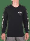 10P Arm Bar Longsleeve T-Shirt Black/White