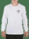 10P Arm Bar Longsleeve T-Shirt White/Black