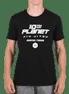 10P No Holds T-Shirt Black/White