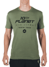 10P No Holds T-Shirt Olive/Black