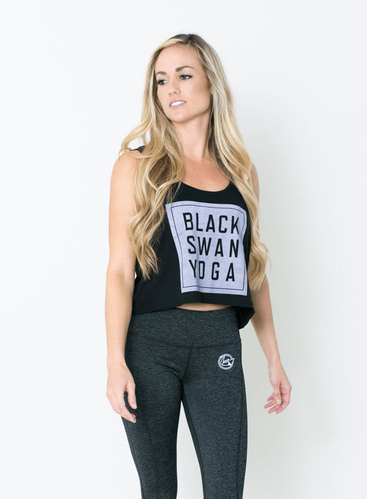BSY Block Logo Flowy Tank