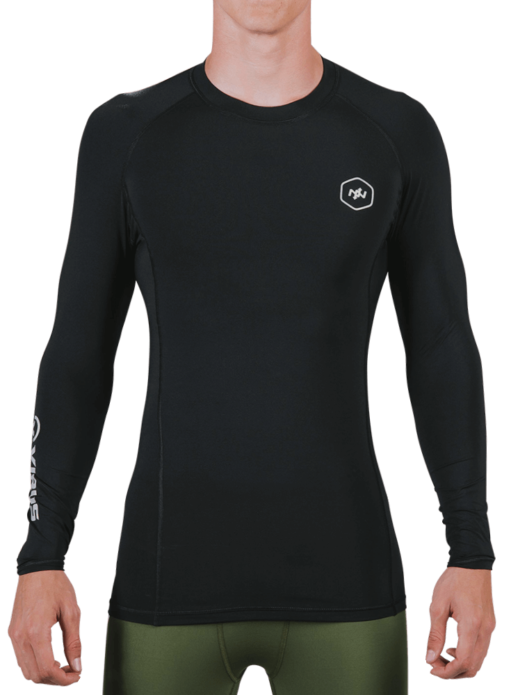 Virus x Onnit Stay Cool L/S Crew Neck Rashguard
