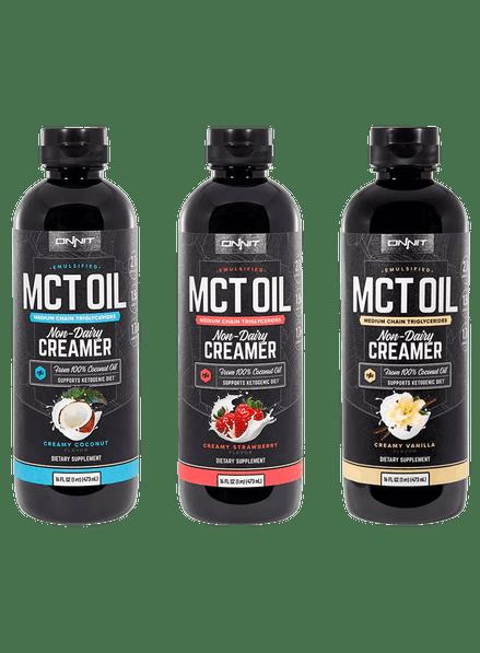 Emulsified MCT Oil Flavors Triple Pack (16oz)