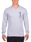 Hardware Vert Longsleeve T-Shirt Gray Heather/Black