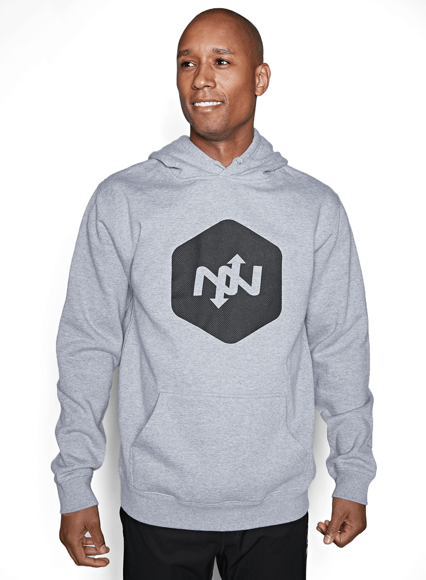 Hex Contact Pullover Hoodie