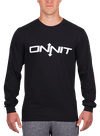 Onnit Type Longsleeve T-Shirt Black/White