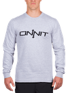 Onnit Type Longsleeve T-Shirt Gray Heather/Black