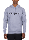 Onnit Type Pullover Hoodie Gray Heather/Black