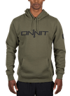 Onnit Type Pullover Hoodie Olive/Black