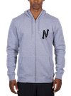 Onward & Upward Zip Hoodie Gray Heather/Black