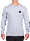 Swift Type Longsleeve T-Shirt Gray Heather/Black