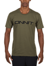 Swift Type T-Shirt Army Green/Black