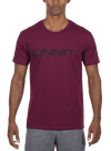 Swift Type T-Shirt Burgundy/Black