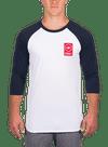 Lock Up Raglan Longsleeve T-Shirt