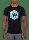 New Horizons T-Shirt Black/Multi